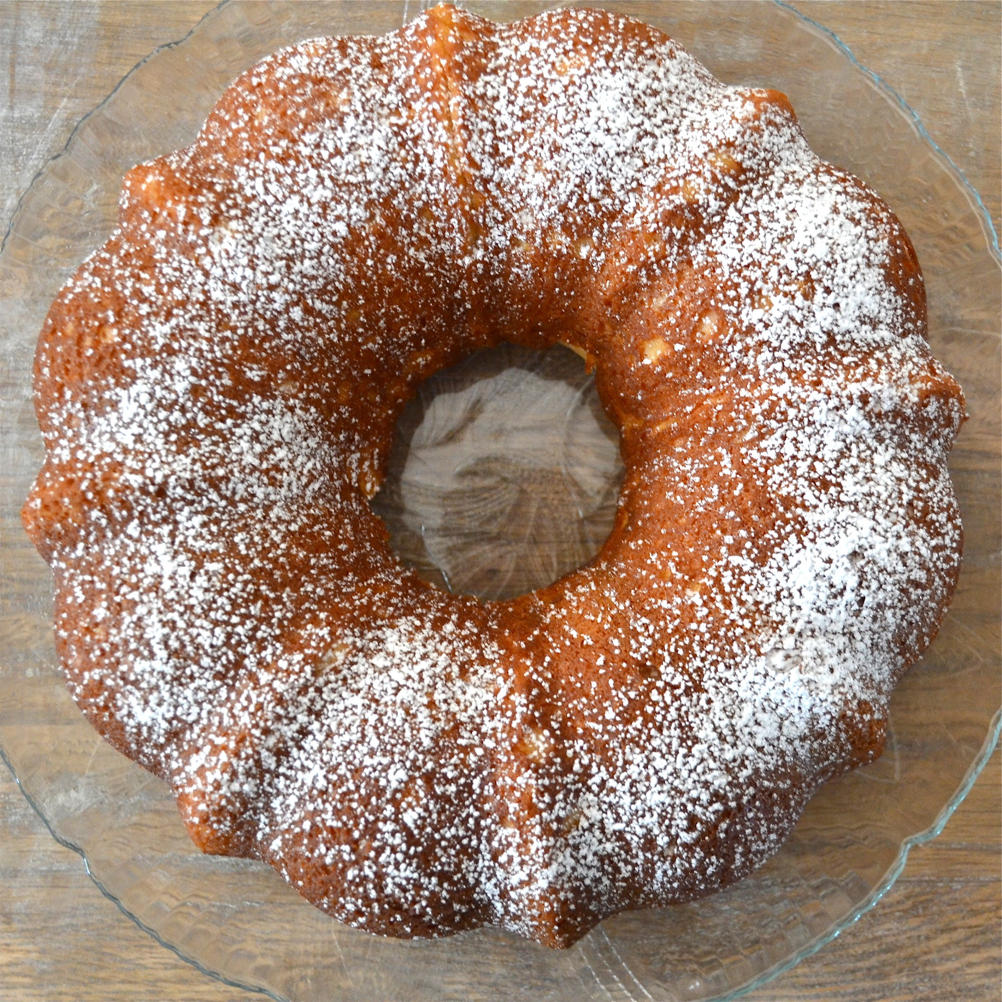 Lemon Sour Cream Bundt Cake - A Dash of Megnut A Dash of Megnut
