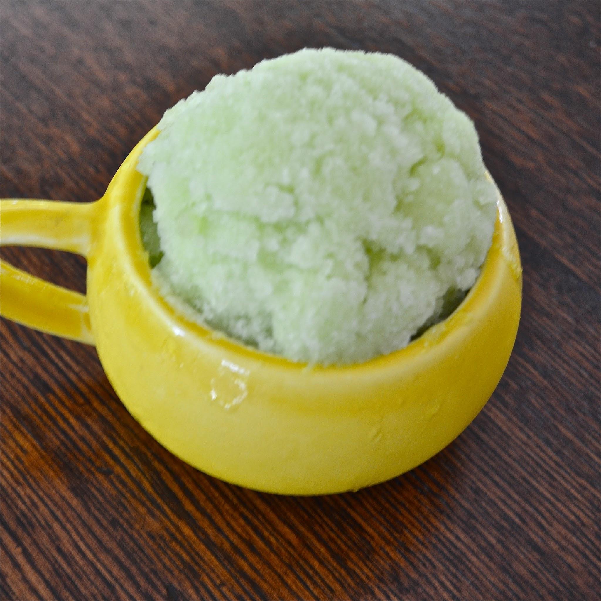 Honeydew Melon Sorbet - A Dash of Megnut