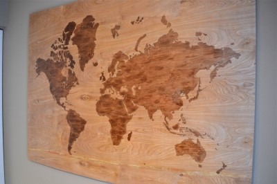 Diy wooden world map art a dash of megnut source gumiabroncs Images