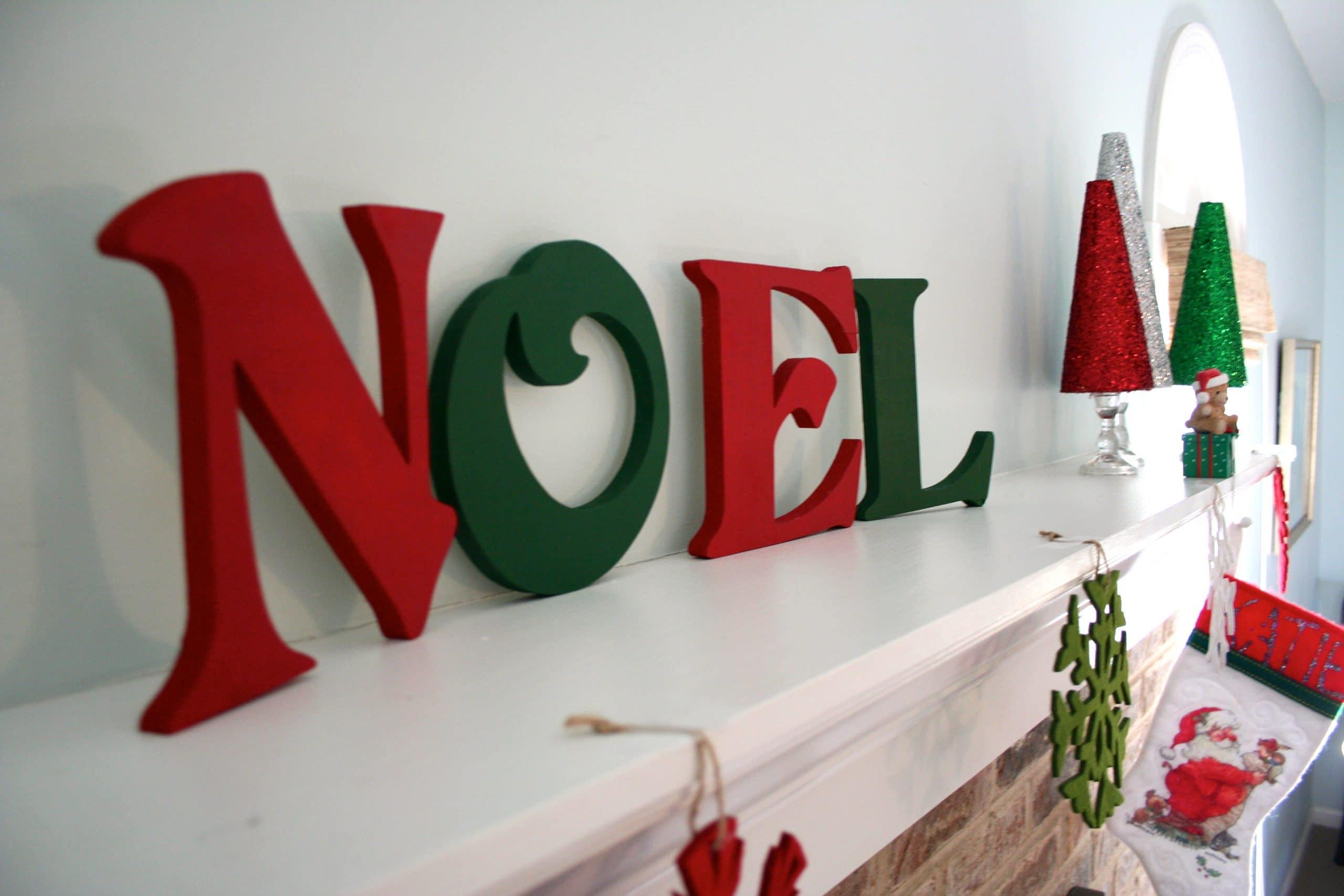 Diy glitter christmas tree a dash of megnut - Bricolage en bois pour noel ...