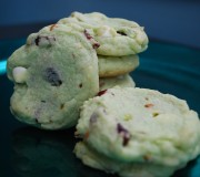 Cranberry pistacho chocolate chip cookies