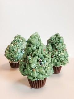 Gluten-Free Rice Krispies Trees
