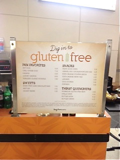 In a nutshell: Gluten-Free at the United Center