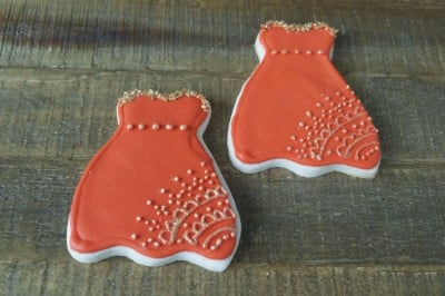 Indian Bridal Shower Cookies