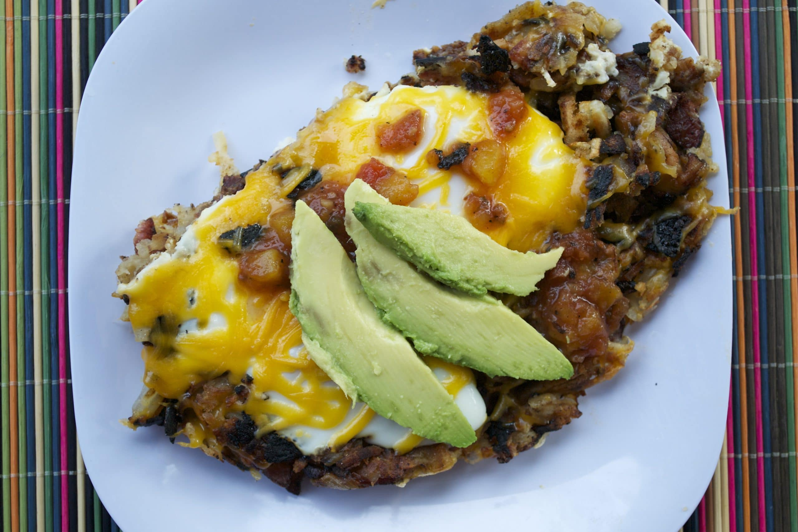Hash Brown Egg Skillet