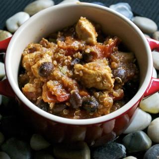 Chicken Quinoa Chili