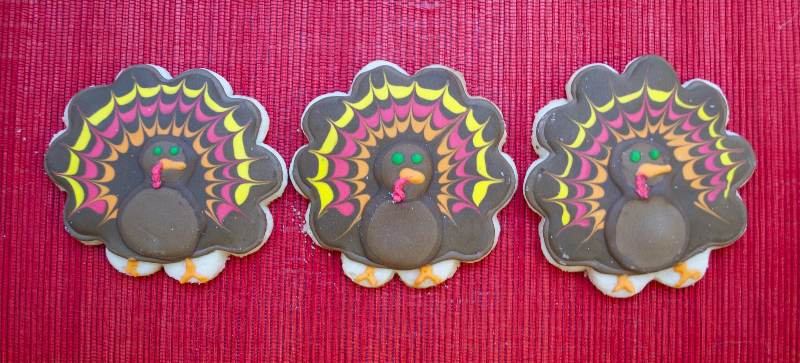 Gluten-Free Turkey Sugar Cookies
