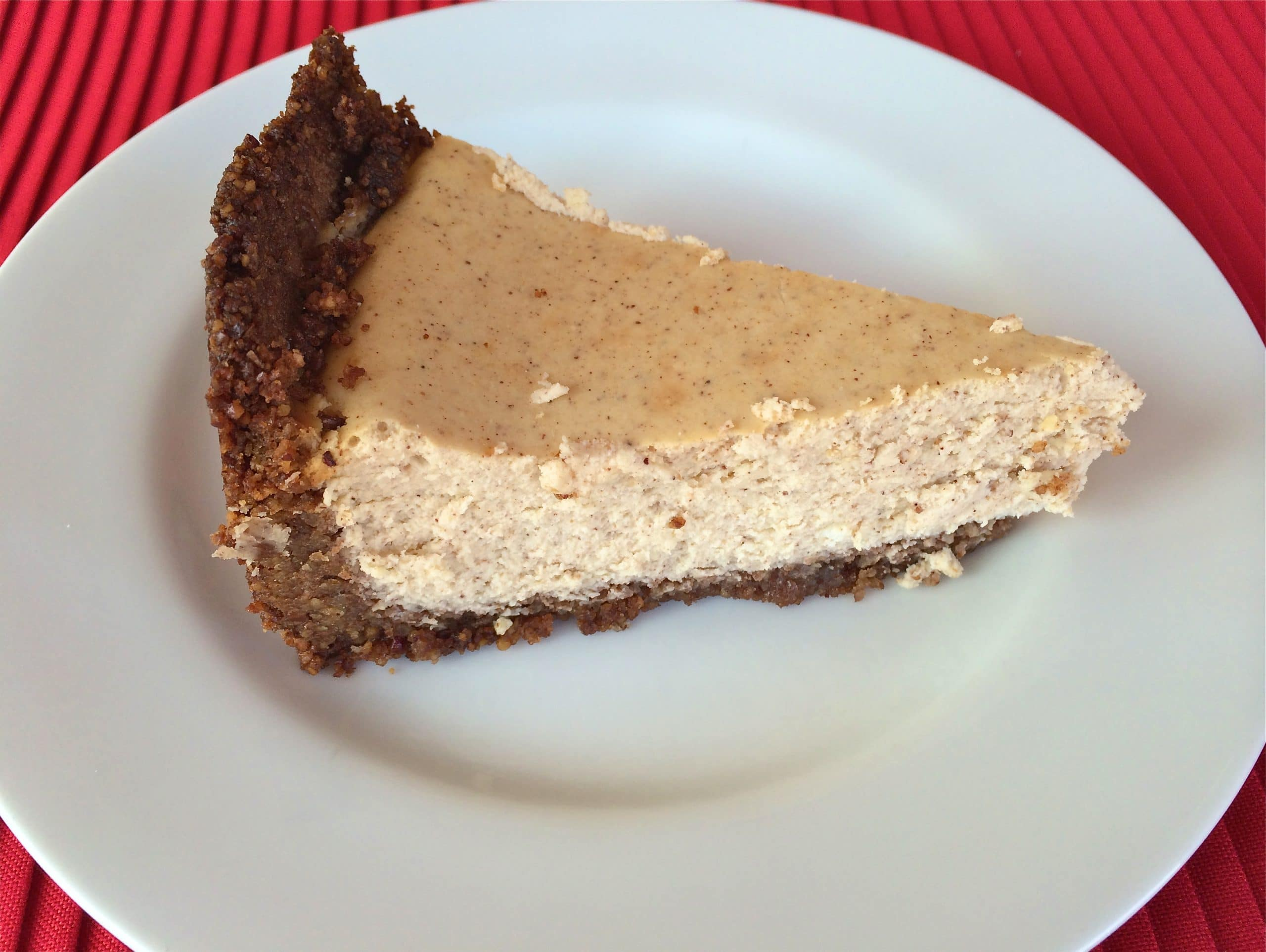 Pumpkin Pie Spice with Pecan Crust