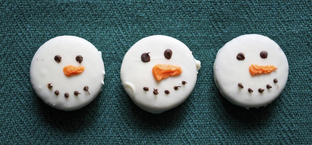 Oreo Snowman