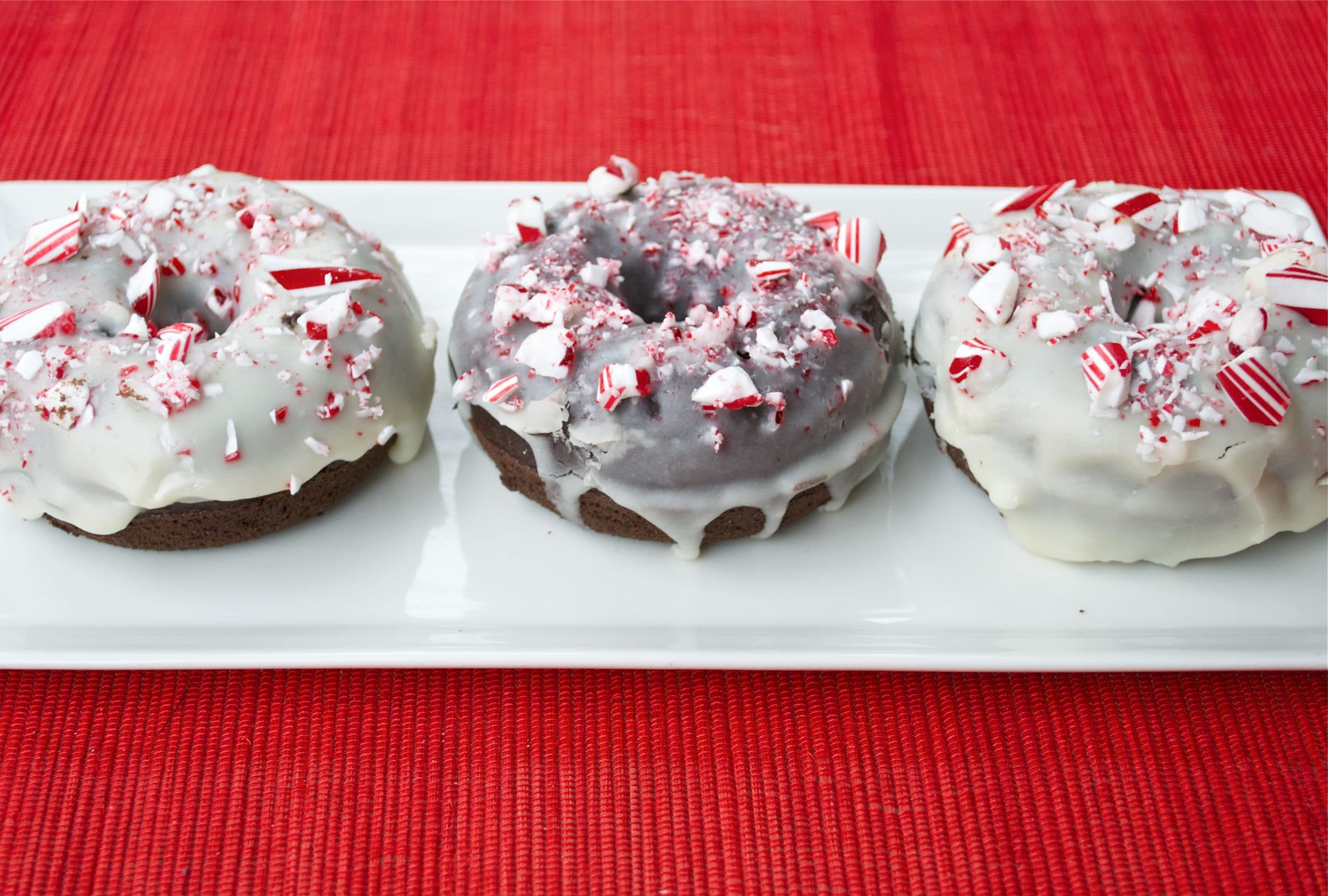 Gluten-Free Chocolate Peppermint Donuts
