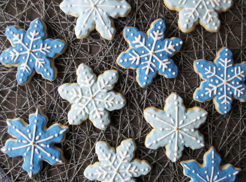 Gluten Free Snowflake Cookies
