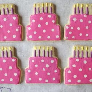Cool Gluten Free Birthday Cake Sugar Cookies A Dash Of Megnut Funny Birthday Cards Online Drosicarndamsfinfo