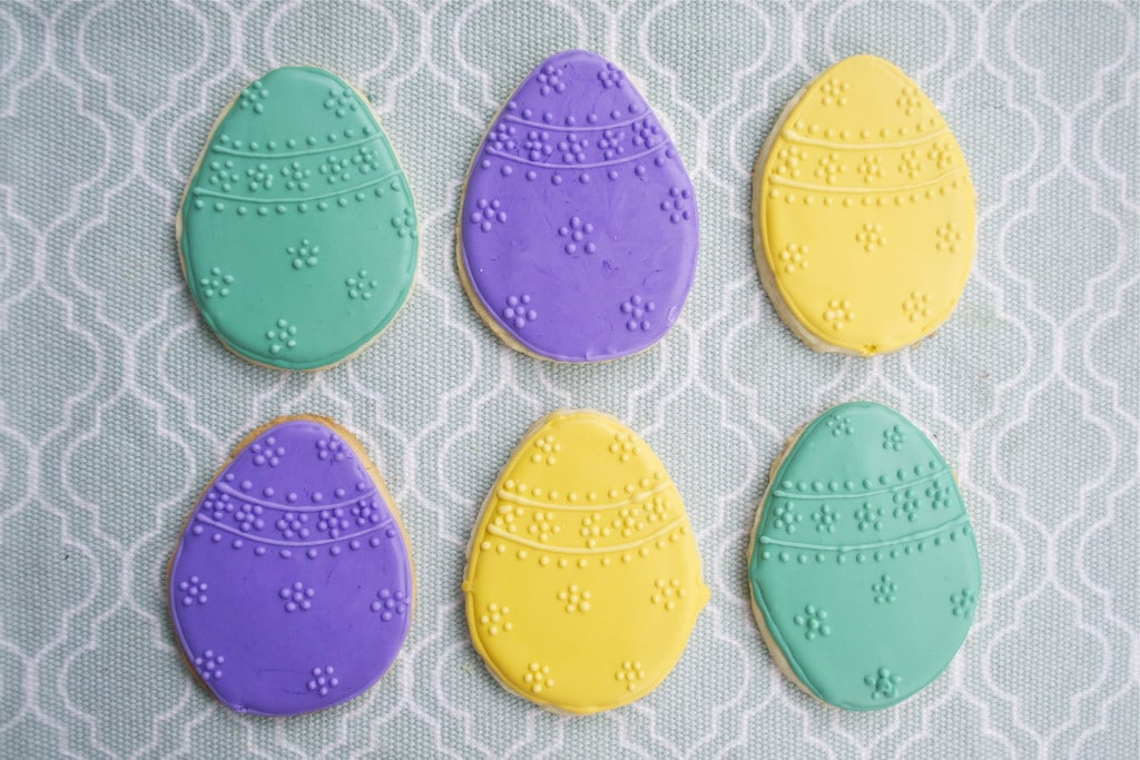 Gluten-free Easter Egg Sugar Cookies | A Dash of Megnut