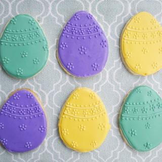 Gluten-free Easter Egg Sugar Cookies | A Dash of Megnut