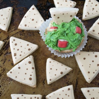 Chips and Guacamole Sugar Cookies