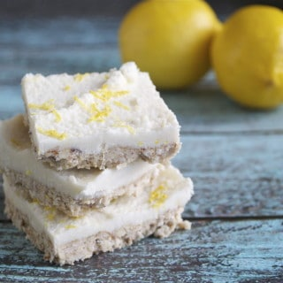 Coconut Lemon Squares (GF, DF, V, SF)