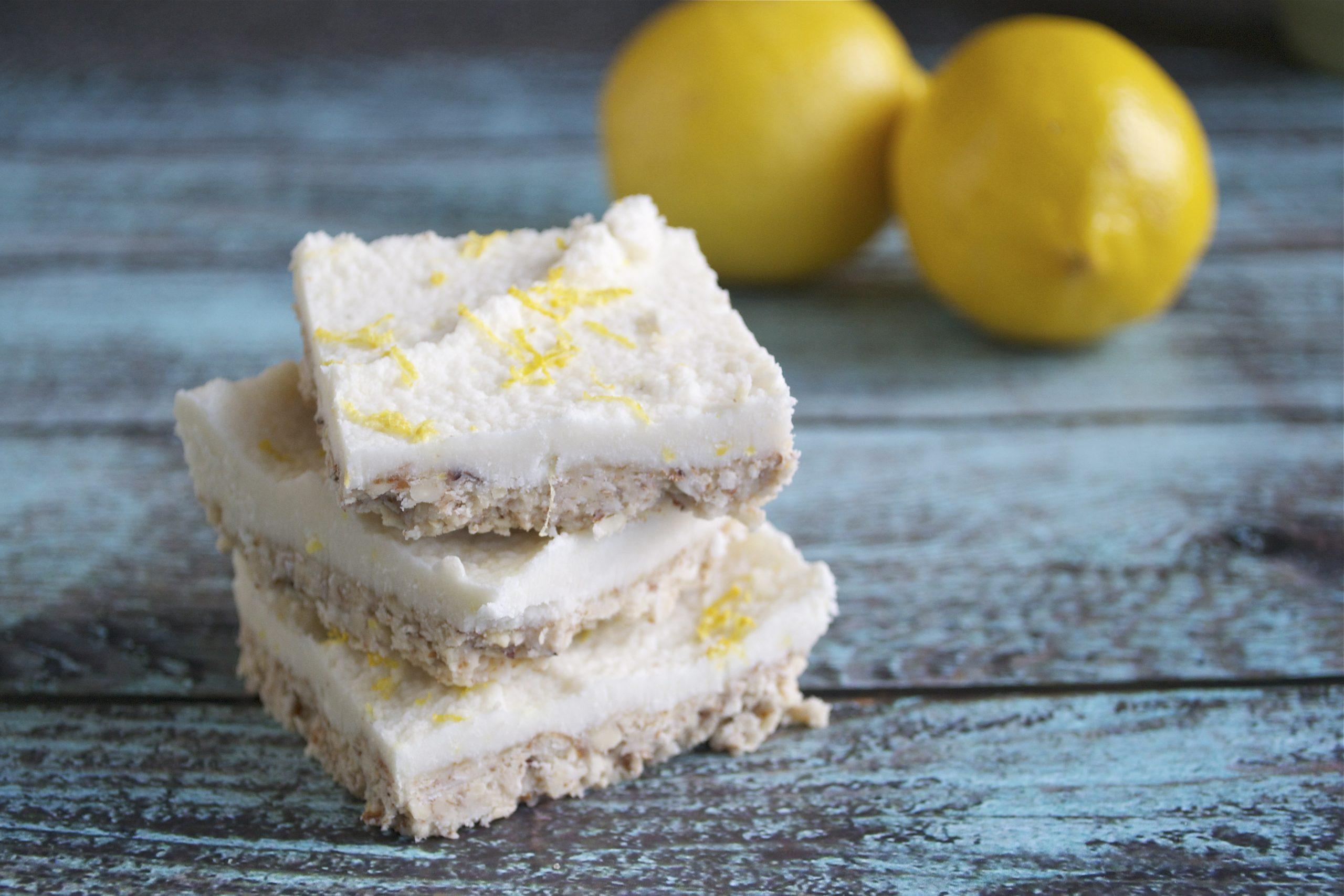 Coconut Lemon Squares (GF, DF, V, SF)