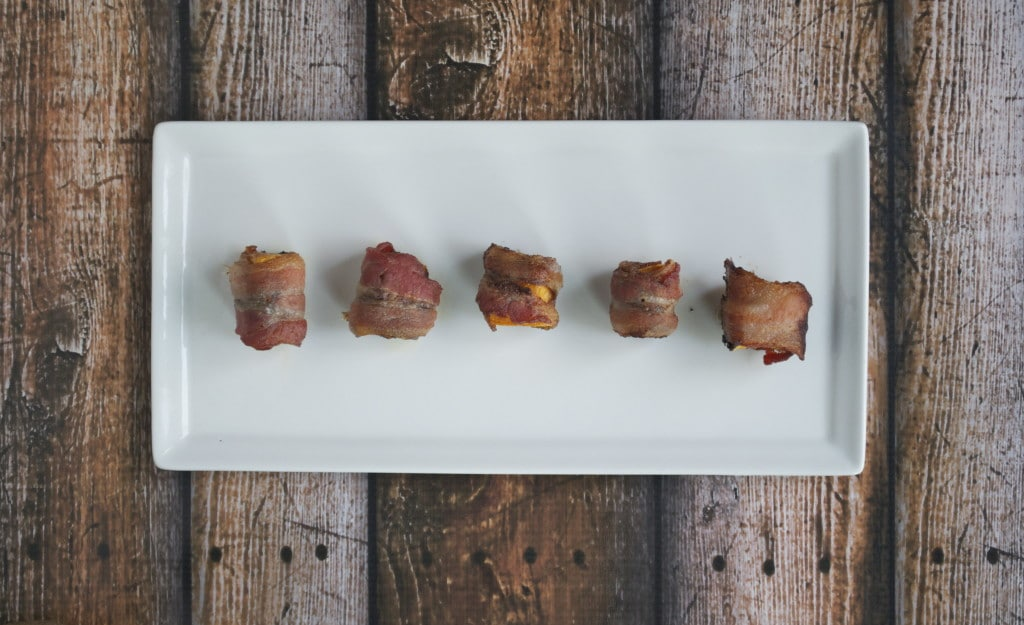 Bacon Wrapped Sweet Potato Bites (GF, DF, SF)