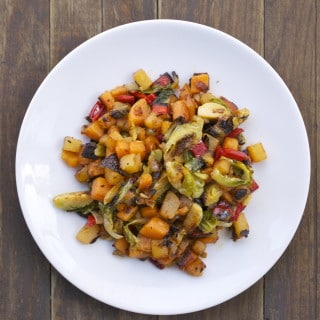 Rutabaga Sweet Potato Hash