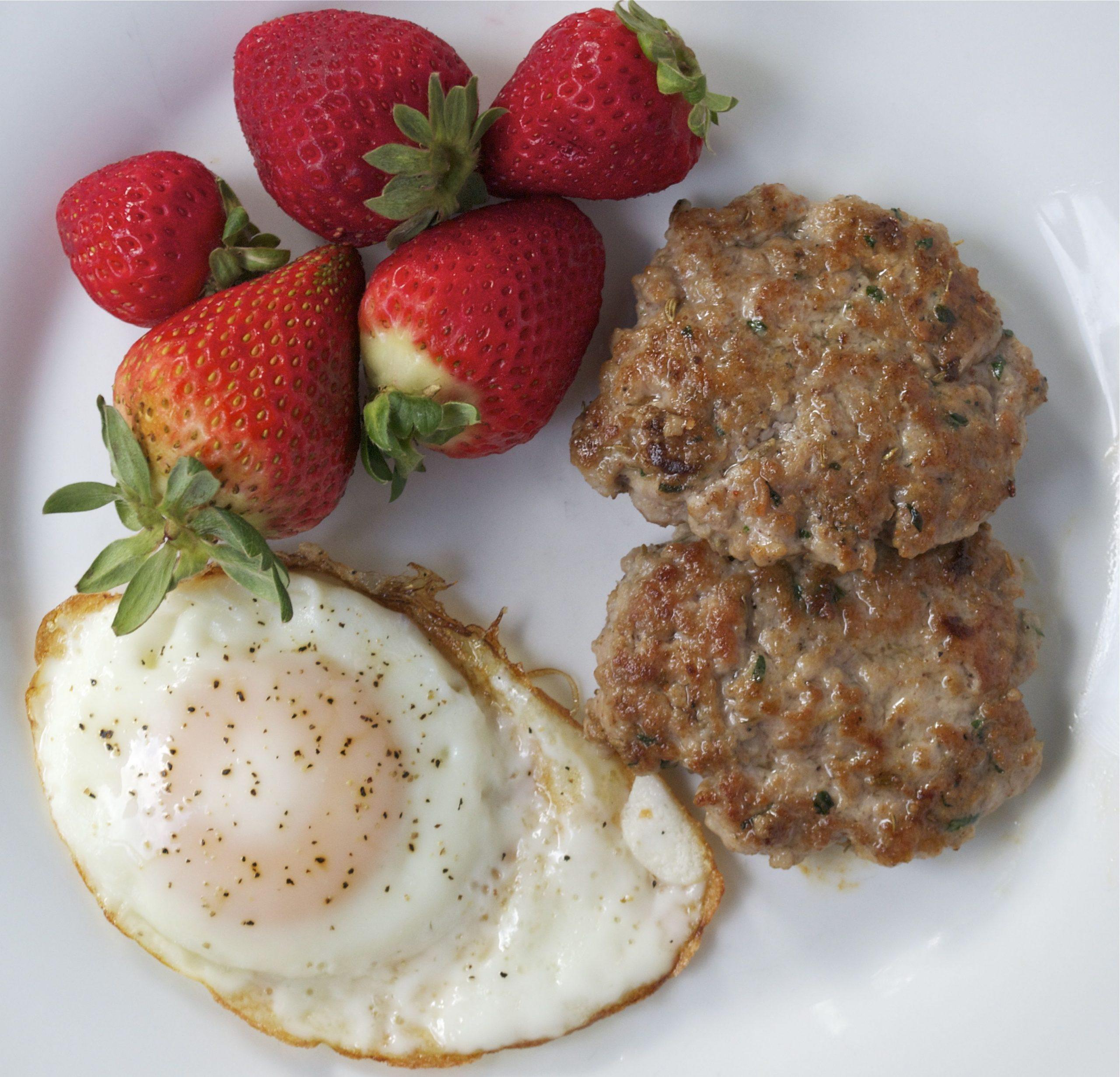 Pork Breakfast Sausage Patties (GF, DF, SF) | A Dash of Megnut