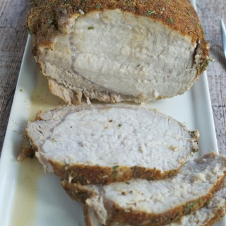 Spice Rubbed Roasted Pork Loin (GF, DF) | A Dash of Megnut