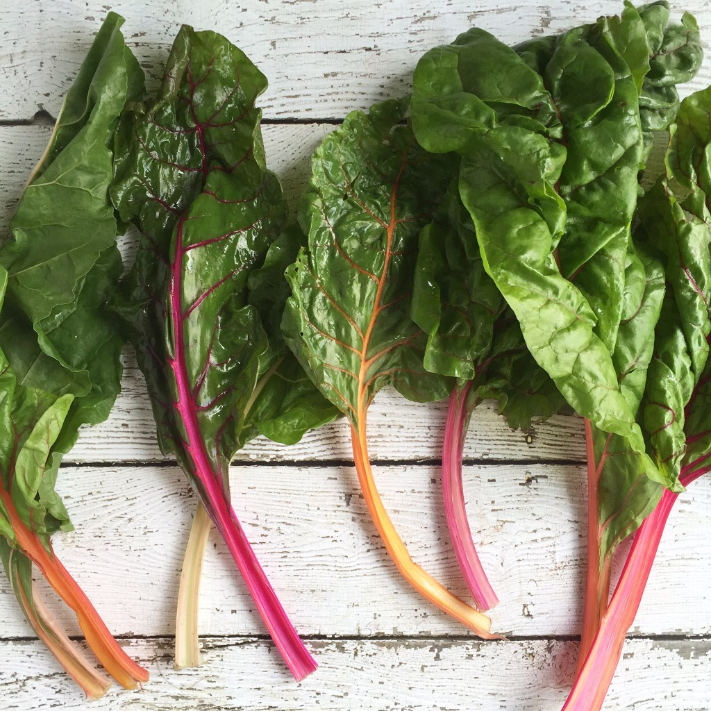 Rainbow Chard Chicken Rolls