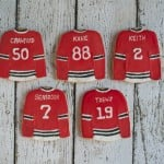 Chicago Blackhawks Sugar Cookies - A Dash of Megnut