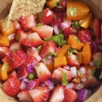 Strawberry Jalapeño Salsa (GF, DF, SF, V) - A Dash of Megnut