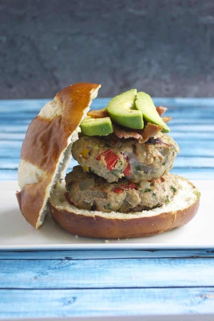 Turkey Veggie Burgers (gluten-free, dairy-free, egg-free) - A Dash of Megnut