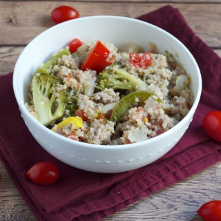 Turkey and Vegetable Quinoa Skillet