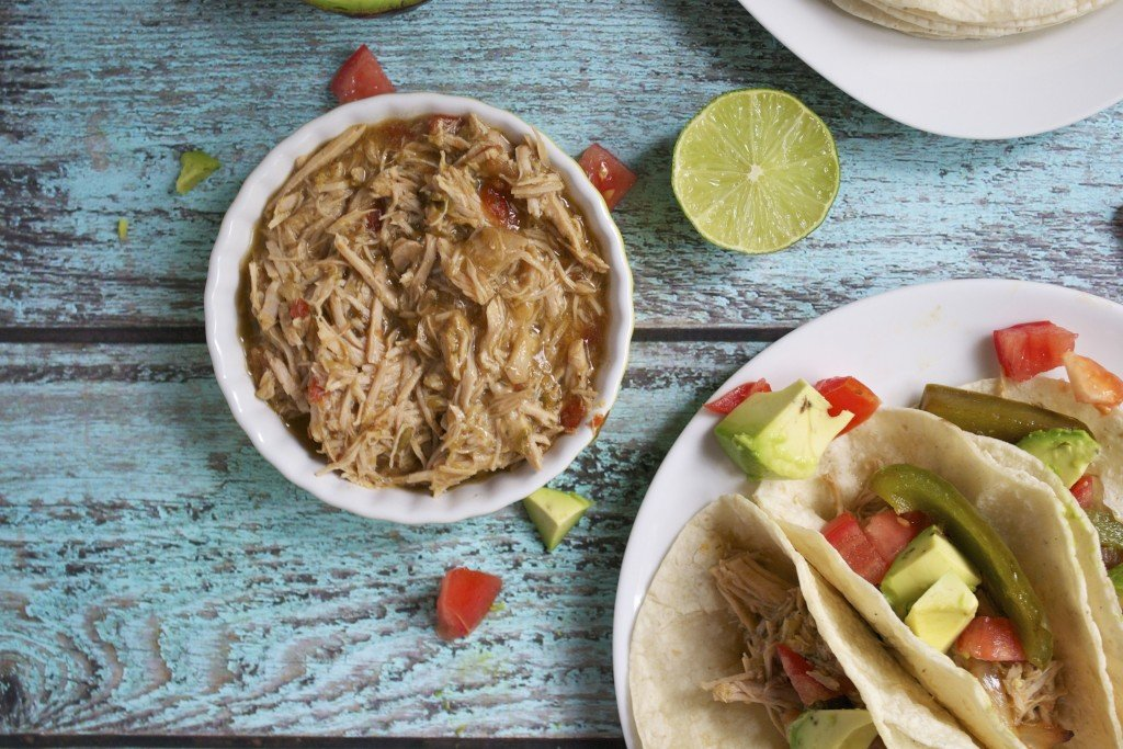 Easy Crockpot Pork Tacos (GF, DF) - A Dash of Megnut