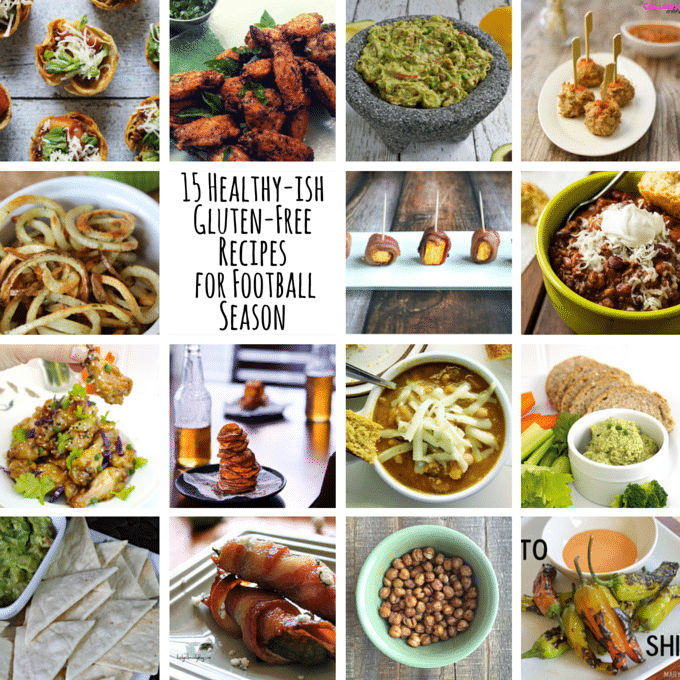 15 Healthy-ish Gluten-Free Recipes for Football Season - A Dash of Megnut