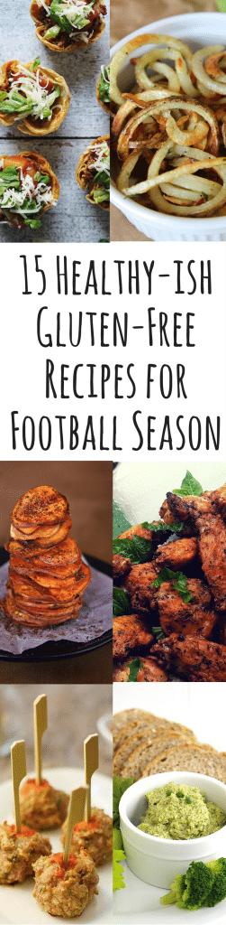 15 Healthy-Ish Gluten-Free Recipes for Football Season - A Dash of Megnut