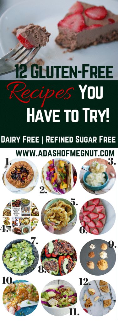 12 Gluten-Free Recipes to Try - (GF, DF, RSF) - A Dash of Megnut