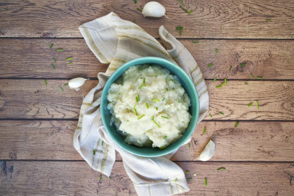 Cauliflower Parnsip Mash (GF, DF, V) - A Dash of Megnut