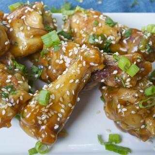 Teriyaki Chicken Wings (GF, DF, RSF) - A Dash of Megnut