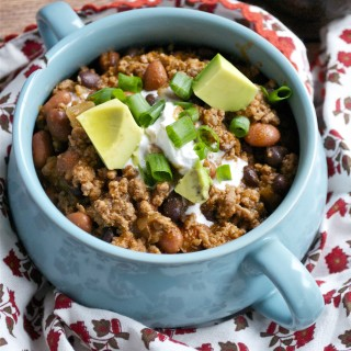 Quick and Easy Chili (GF, DF) - A Dash of Megnut
