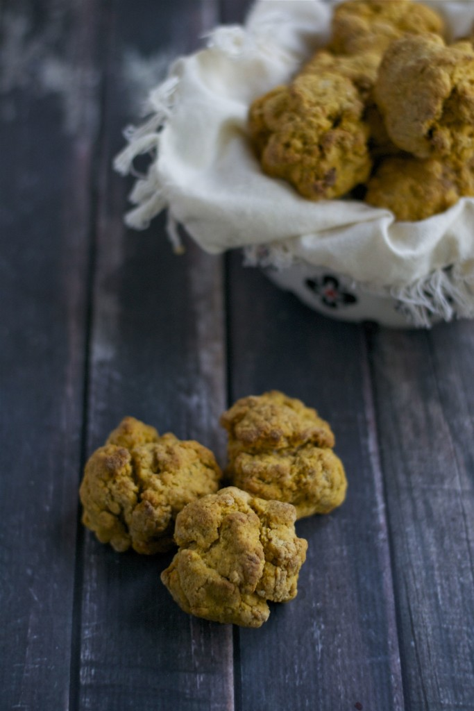 Sweet Potato Drop Biscuits (GF, DF, V) - A Dash of Megnut