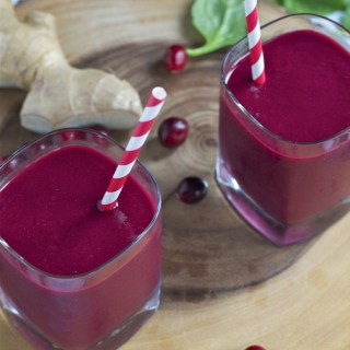 Cranberry Beet Smoothie