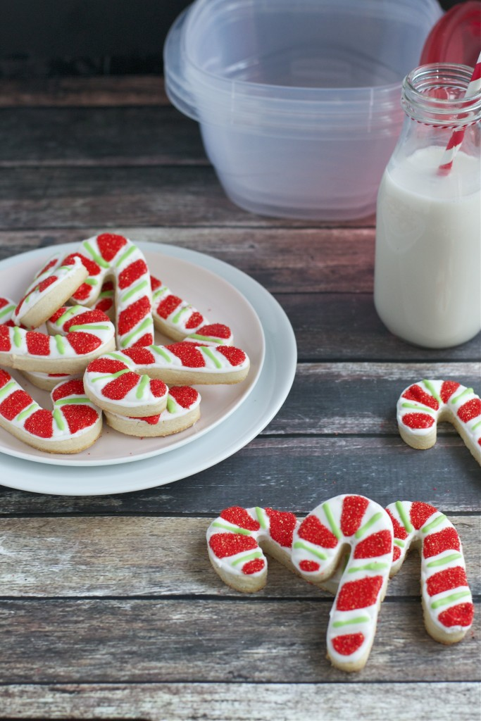 Gluten Free Peppermint Candy Cane Sugar Cookies