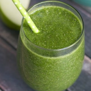 Apple and Kale Green Smoothie