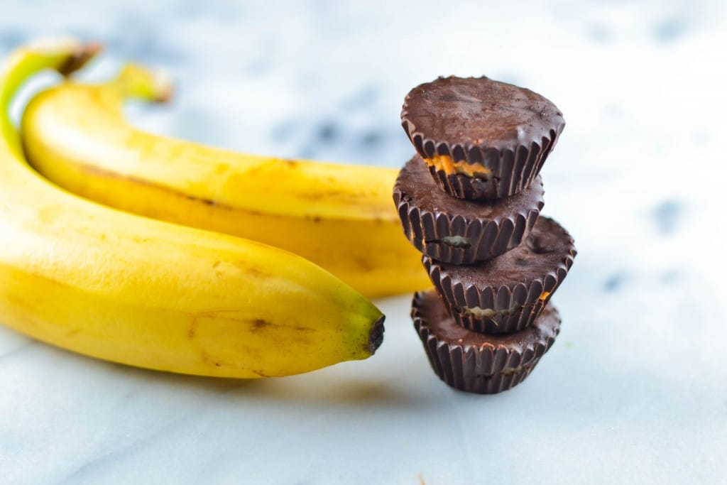 Chocolate Peanut Butter Banana Bites (GF, DF, V, RSF) - A Dash of Megnut