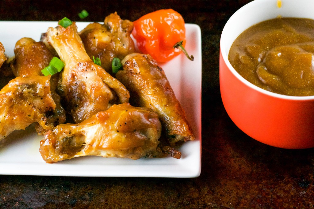 Mango Habanero Chicken Wings (GF, DF, RSF) - A Dash of Megnut