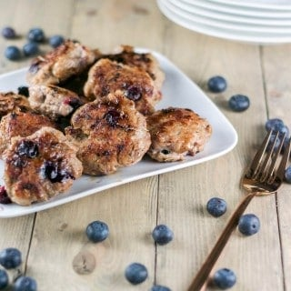 Blueberry Turkey Breakfast Sausage
