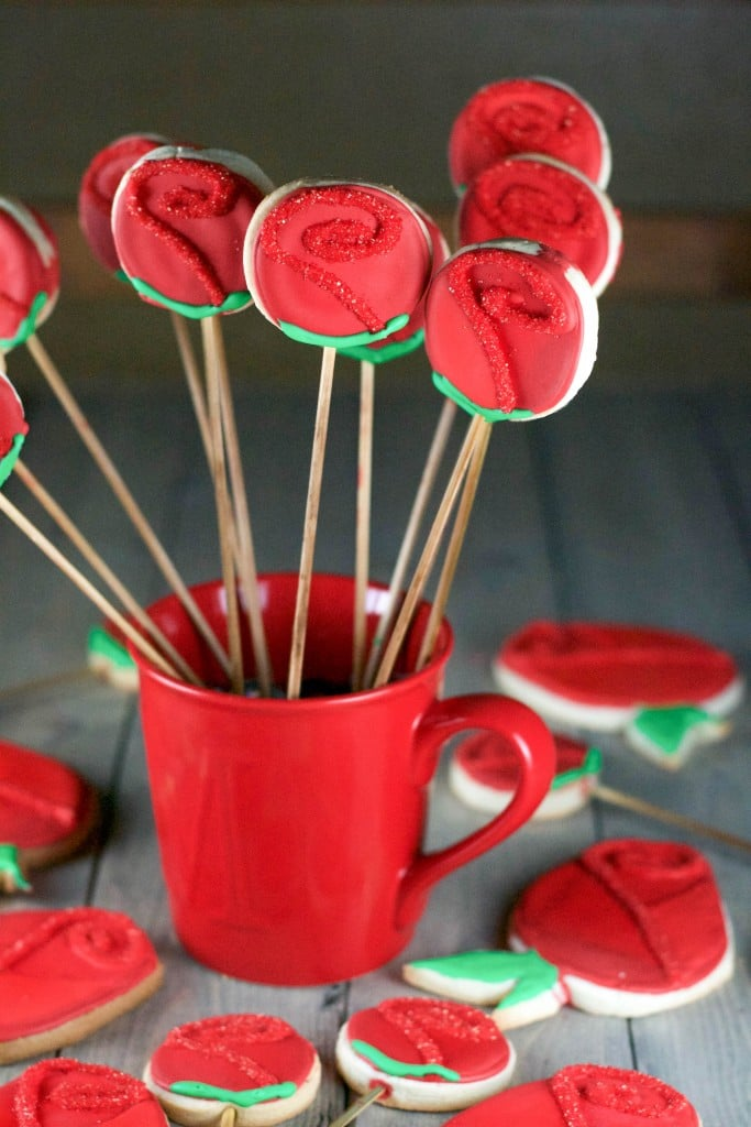 The Bachelor Final Rose Gluten-Free Sugar Cookies