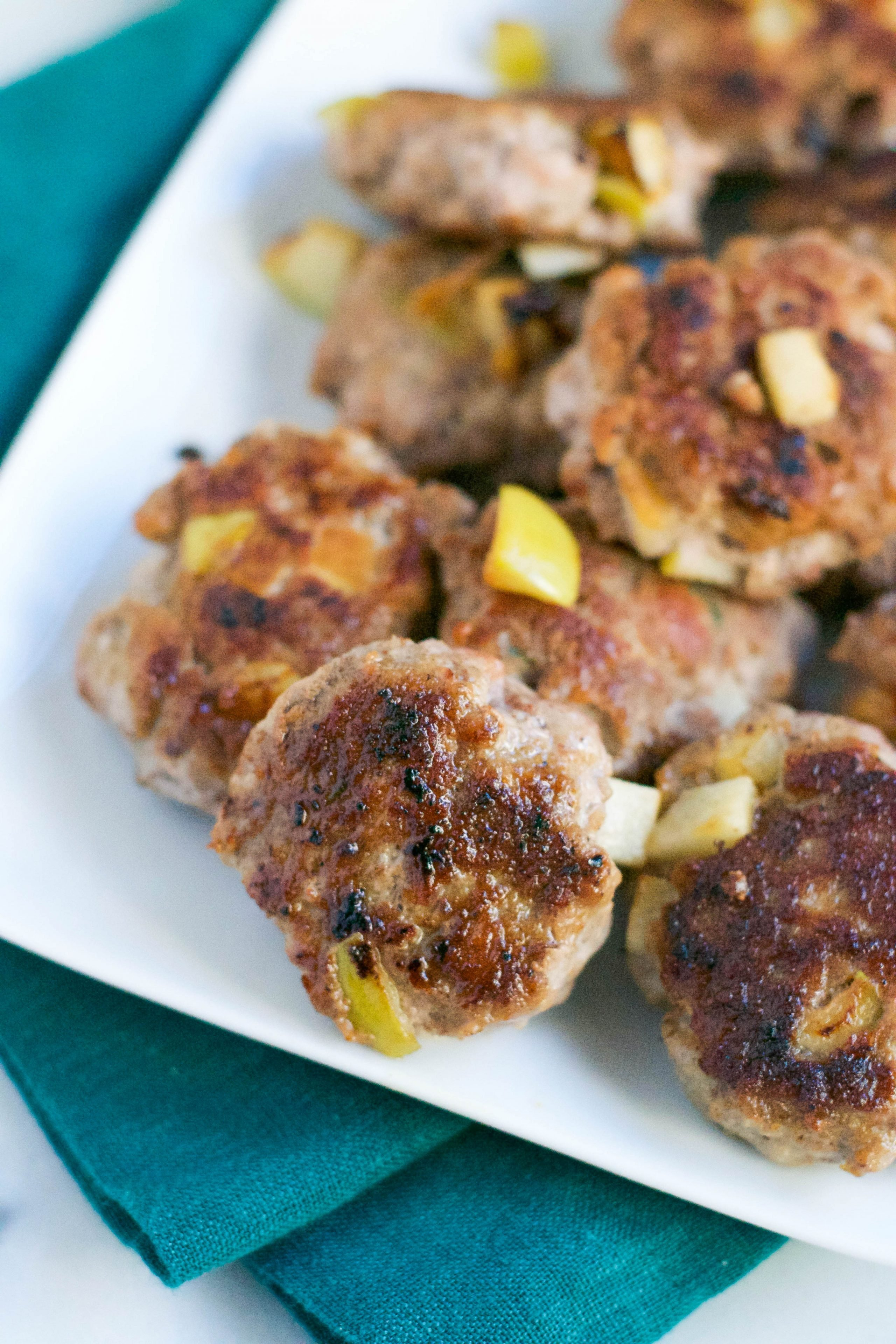 Apple Turkey Breakfast Sausage (GF, DF) - A Dash of Megnut