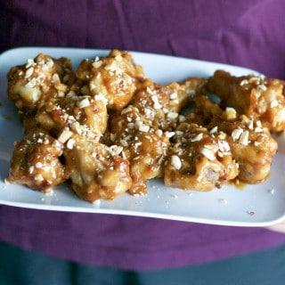 Peanut Butter Chicken Wings