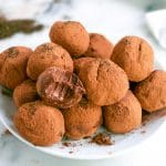 Vegan Earl Grey Chocolate Truffles (GF, DF, V) - A Dash of Megnut