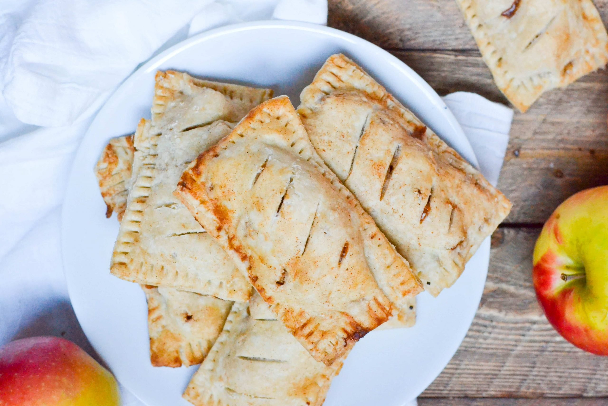 Gluten-Free Vegan Apple Hand Pies (GF, DF, V) - A Dash of Megnut