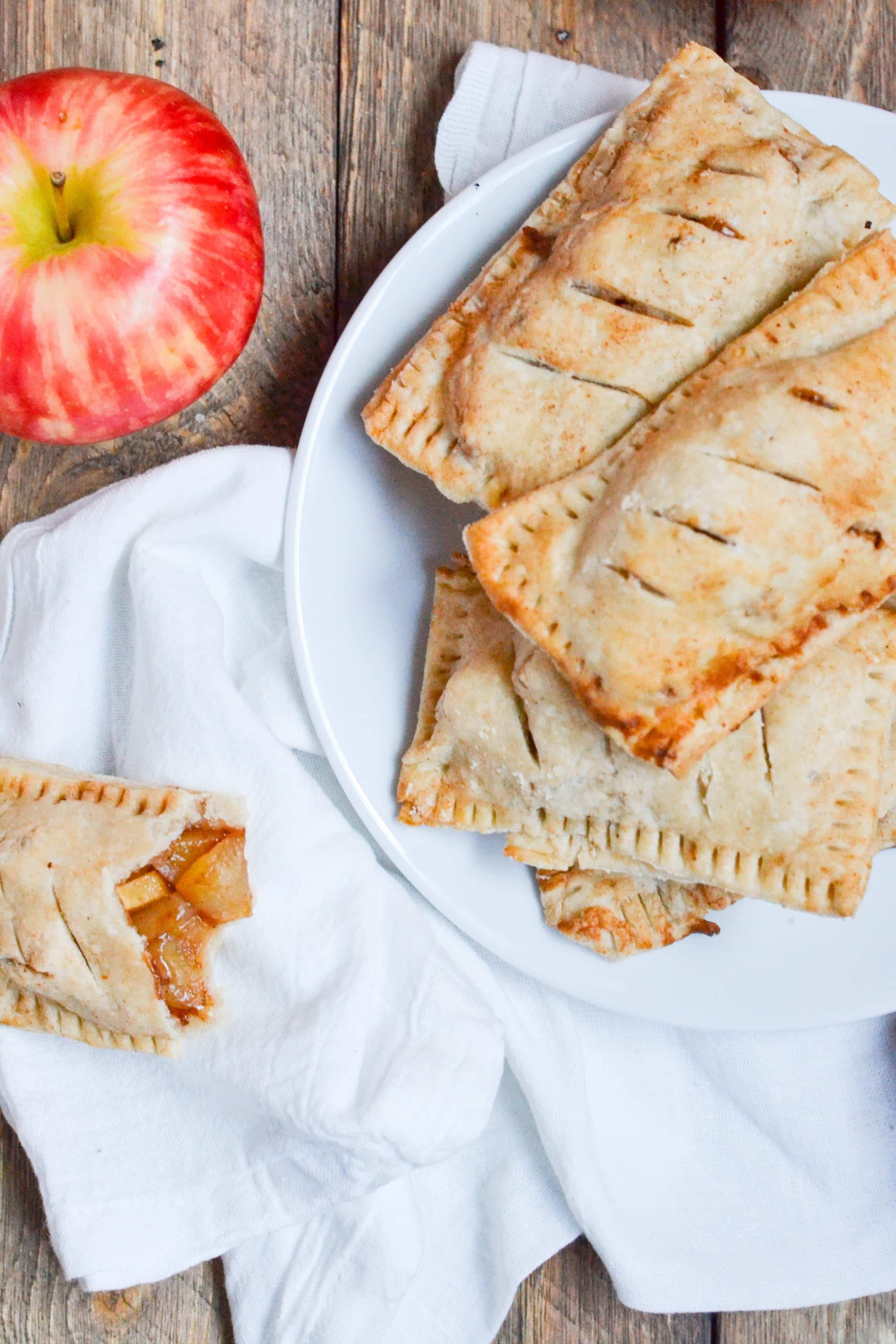 Gluten-Free Vegan Apple Hand Pies (GF, DF, V) - A Dash of Megnut